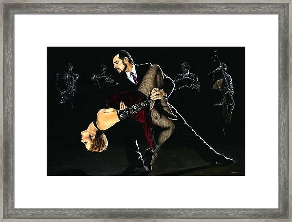 For The Love Of Tango Framed Print