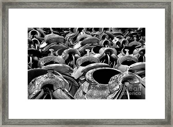 For The Riders Comfort Framed Print