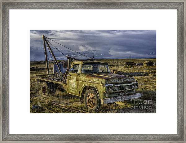 Ford 1958 - F-series Pickup  Framed Print