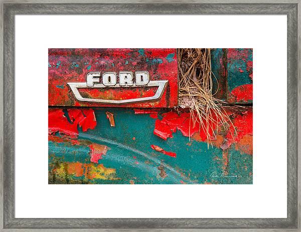 Ford 2070 Framed Print