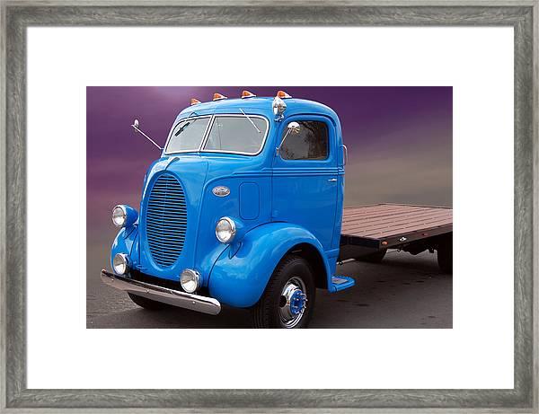 Ford Coe Flatbed Framed Print