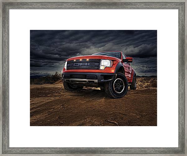 Ford F 150 Raptor  Framed Print