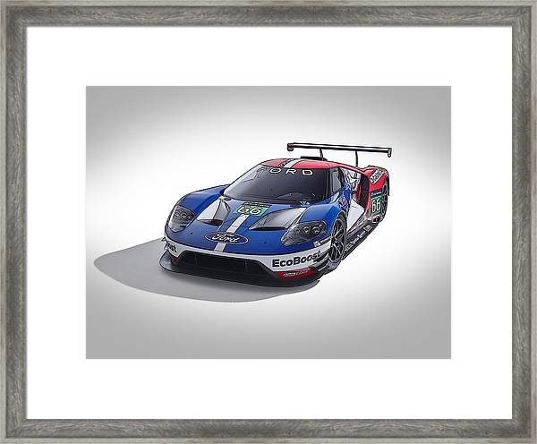 Ford Gt Framed Print