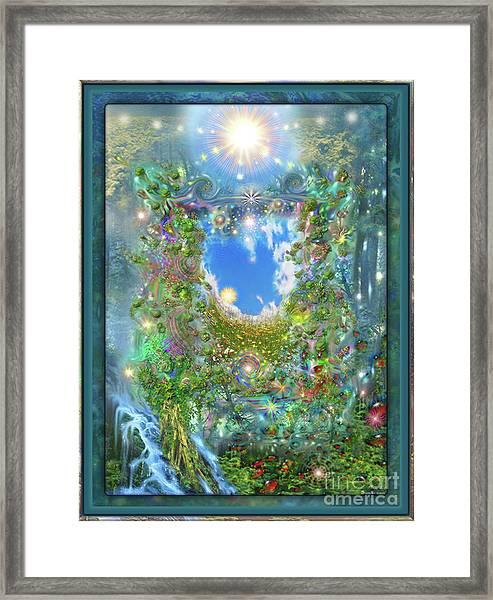 Forest Force Framed Print