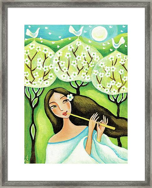 Forest Melody Framed Print