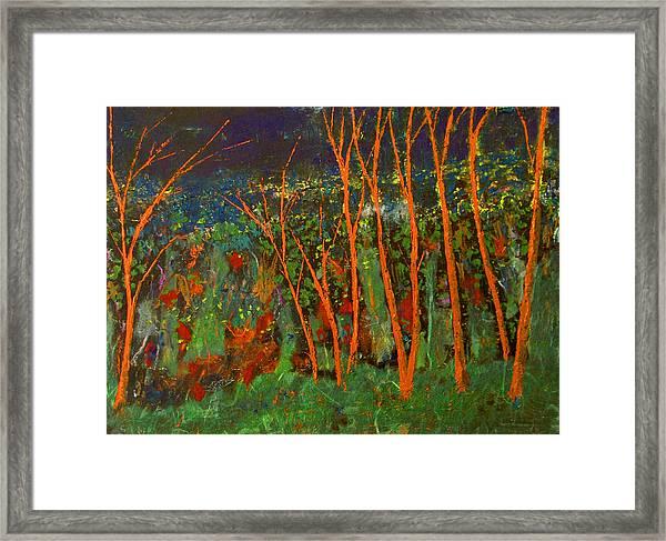 Forest Of Morpheus Framed Print