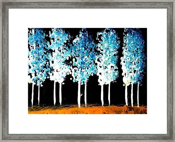 Forest Of Nightmares  Framed Print