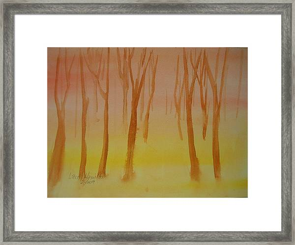 Forest Study Framed Print