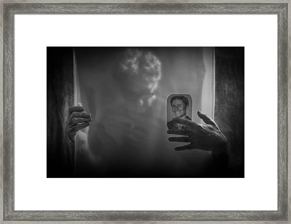Forever In My Heart Framed Print