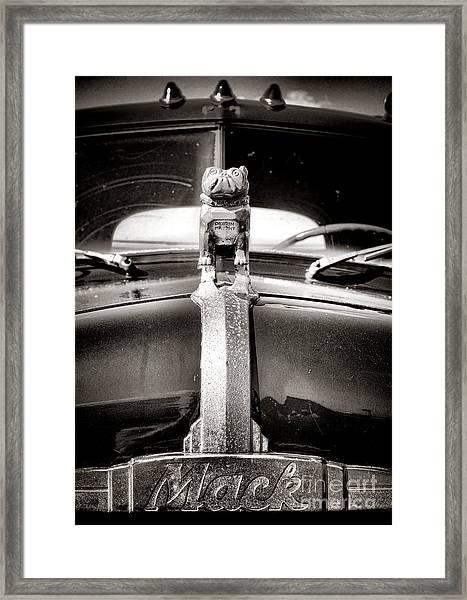 Forever Mack Framed Print