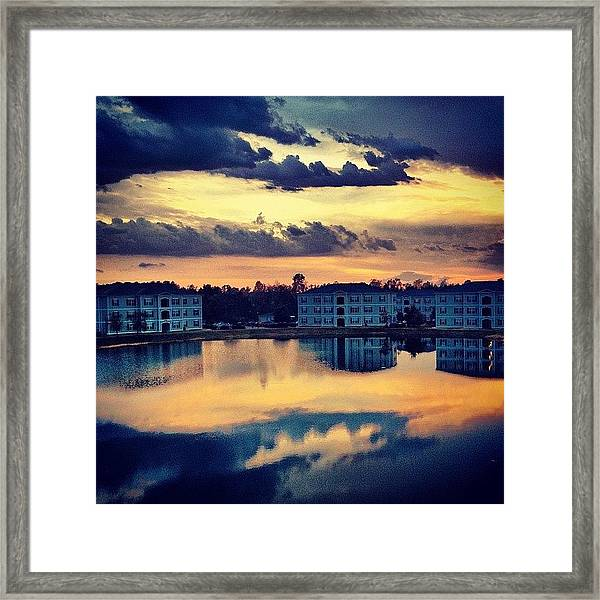 Forever Taking #sunset Pics Off This Framed Print