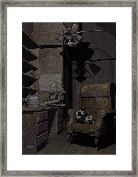 Forgotten Friend Framed Print