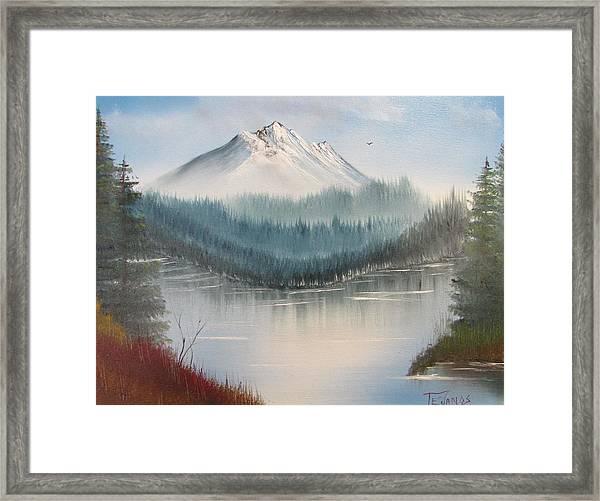 Fork In The River Framed Print