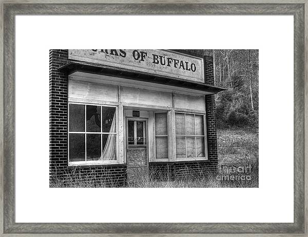 Forks Of Buffalo Framed Print