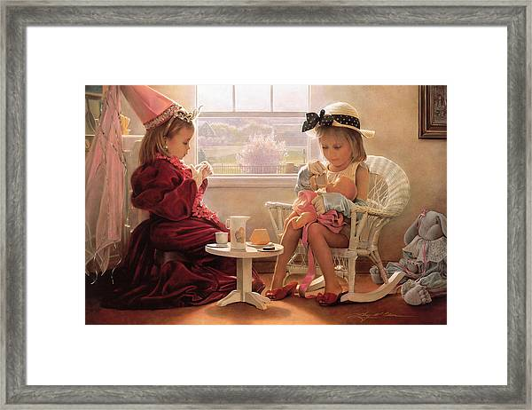 Formal Luncheon Framed Print