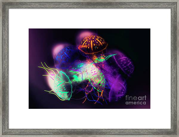 Forms And Merger Framed Print