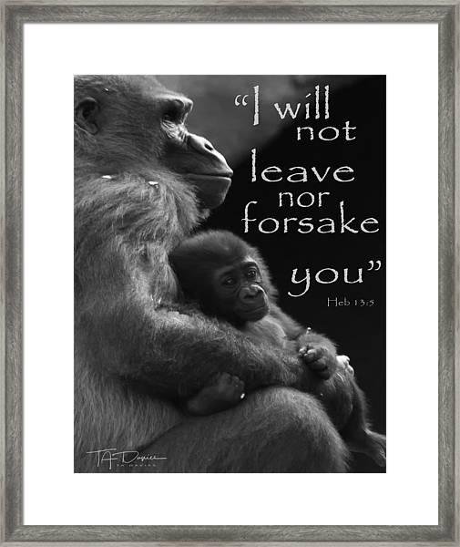 Forsake 11x14 Framed Print