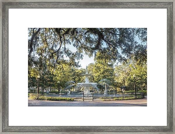 Forsyth Park #2 Framed Print