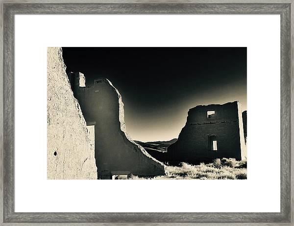 Fort Churchill State Historic Park Framed Print