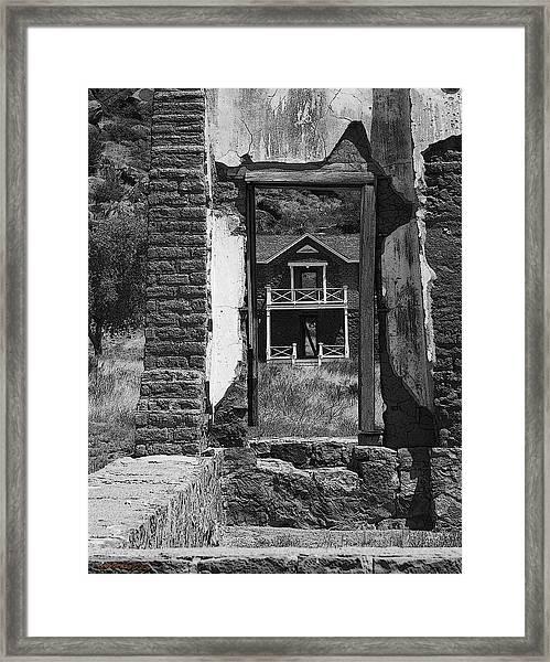 Fort Davis Framed Print