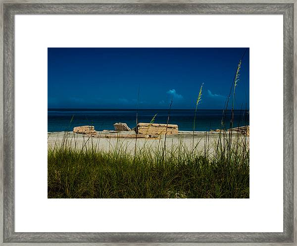 Fort Desoto Beach Framed Print