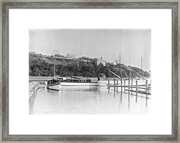 Fort George Amusement Park Framed Print