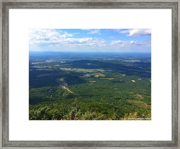 Fort Mountain Framed Print