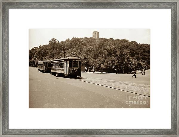 Fort Tryon Trolley Framed Print