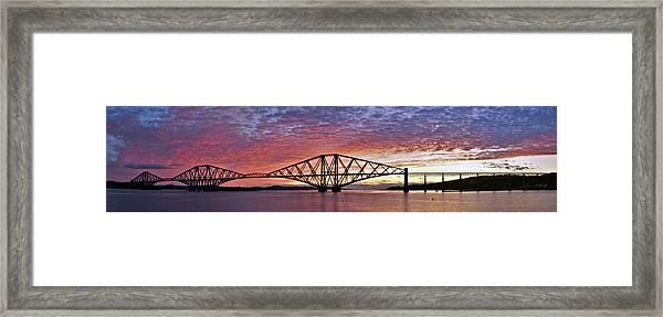 Forth Dawn Framed Print