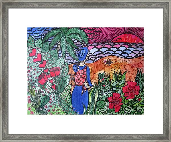 Fortune ....happiness Framed Print