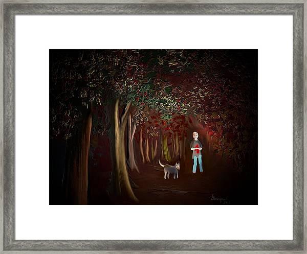 Found II Framed Print