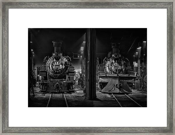 Four-eighties Framed Print
