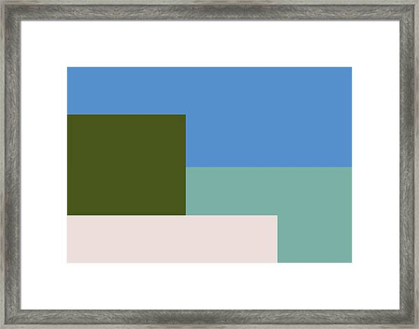 Four Elements Framed Print