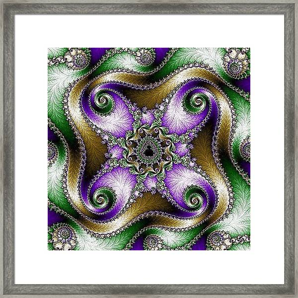 Four Sacred Directions Framed Print