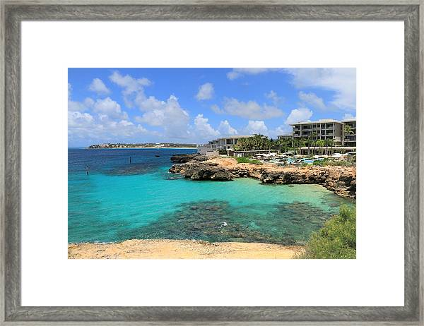 Four Seasons Hotel In Anguilla Framed Print