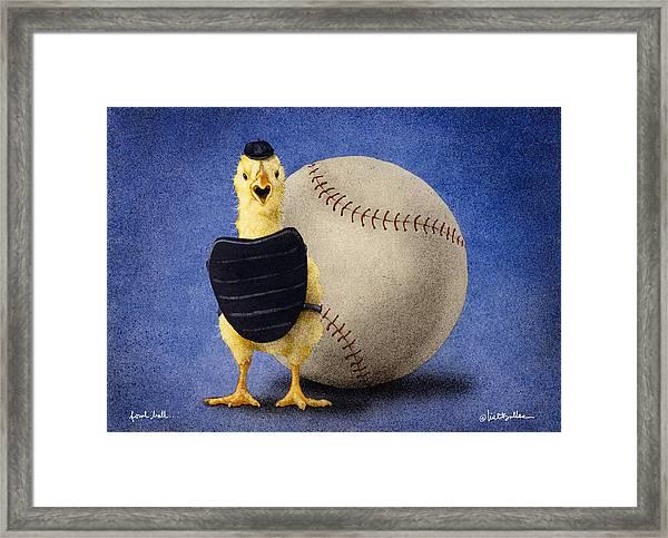 Fowl Ball... Framed Print