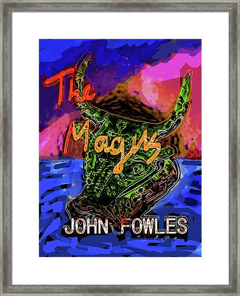 Fowles Magus Poster  Framed Print