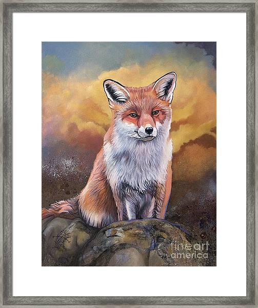 Fox Knows Framed Print