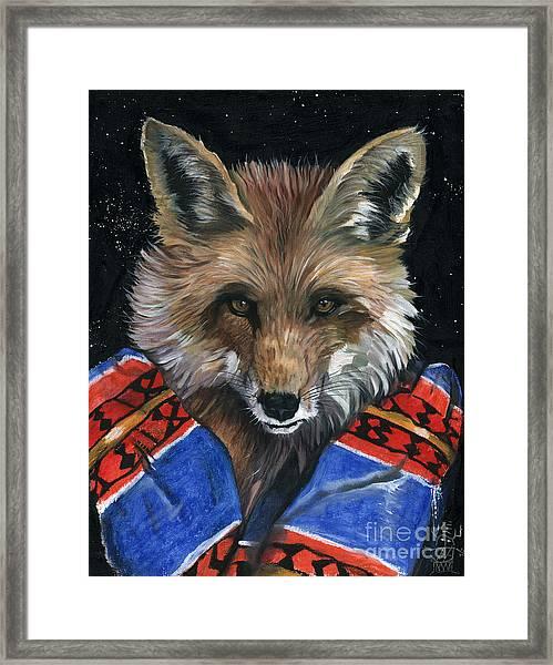 Fox Medicine Framed Print