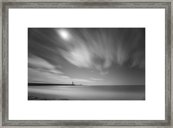 Foz Lighthouses Framed Print