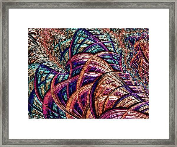 Fractal Farrago Framed Print