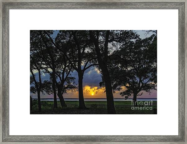 Framed Print featuring the photograph Framed by DJA Images