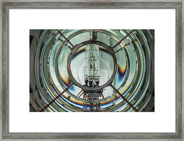 Framed Fresnel Framed Print