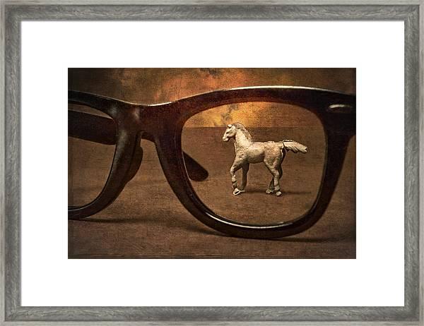 Framed In A Dream Framed Print