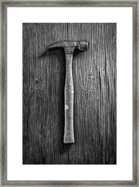 Framing Hammer Framed Print