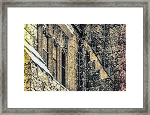 Franco Center Lewiston Maine Framed Print