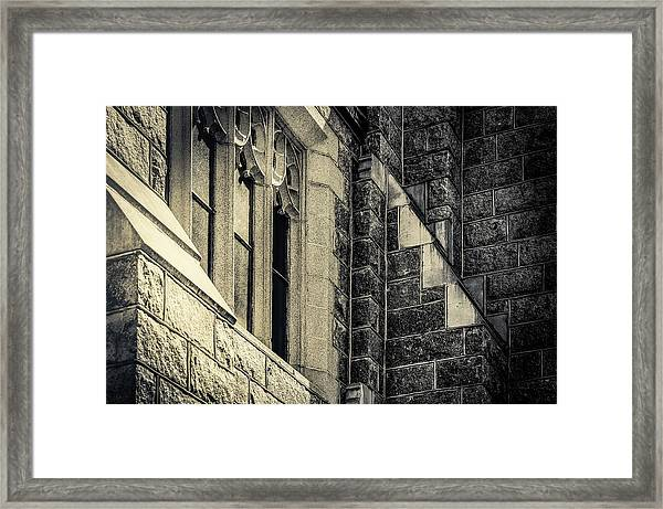 Franco Center Lewiston Maine II Framed Print