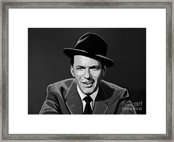 Frank Sinatra Framed Print