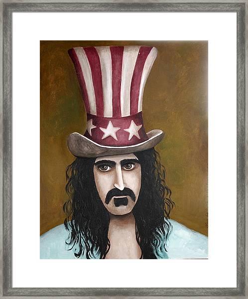 Franks Hat Framed Print