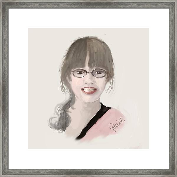 Frannie Framed Print